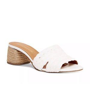 Andre Assous Women's White Cadyn Slip On Sandals